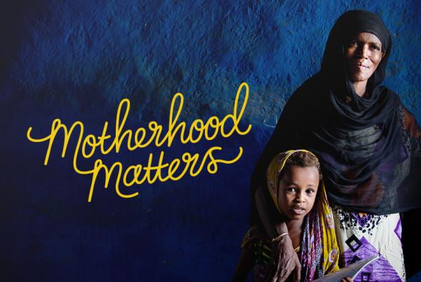 AVI Motherhood Matters Graphic Design