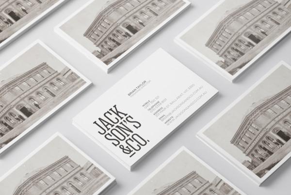 Jackson's & Co. Branding Design