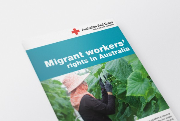 Australian Red Cross Trafficked People Program Brochure