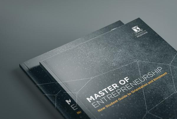 The University Of Melbourne Master of Entrepreneurship Booklet