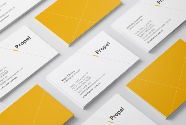 Propel Group Business Card Design